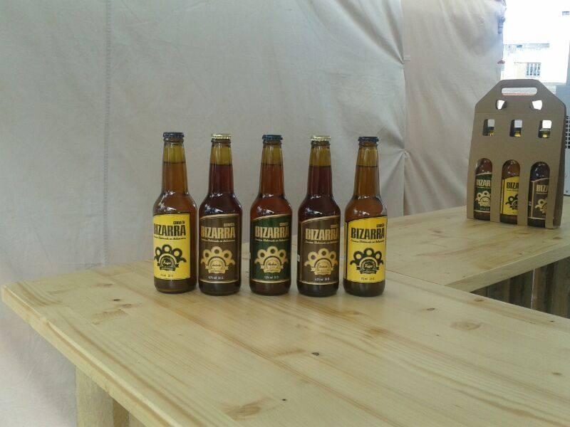 cervezas de Bizarra