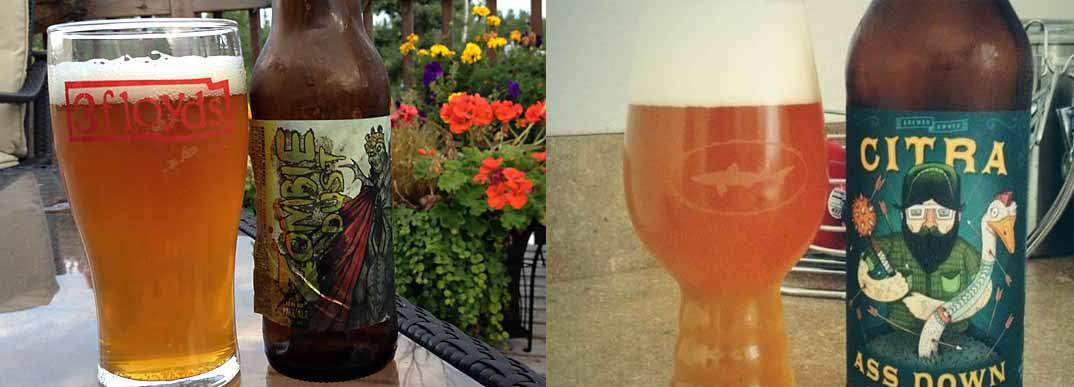 3 Floyds Brewing Co y Against the Grain usan lúpulo Citra en sus cervezas