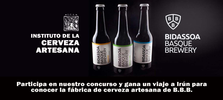 Concurso fotográfico: Gana un viaje a Irún y conoce la nueva microcervecería vasca: Bidassoa Basque Brewery