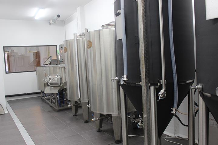 Fábrica de cerveza artesana de Cervesa CESC