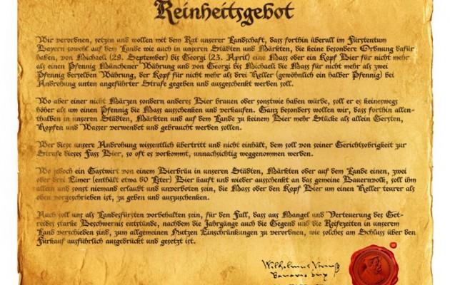 500 aniversario de la Ley de la Pureza Alemana: los por qués de esta controvertida ley