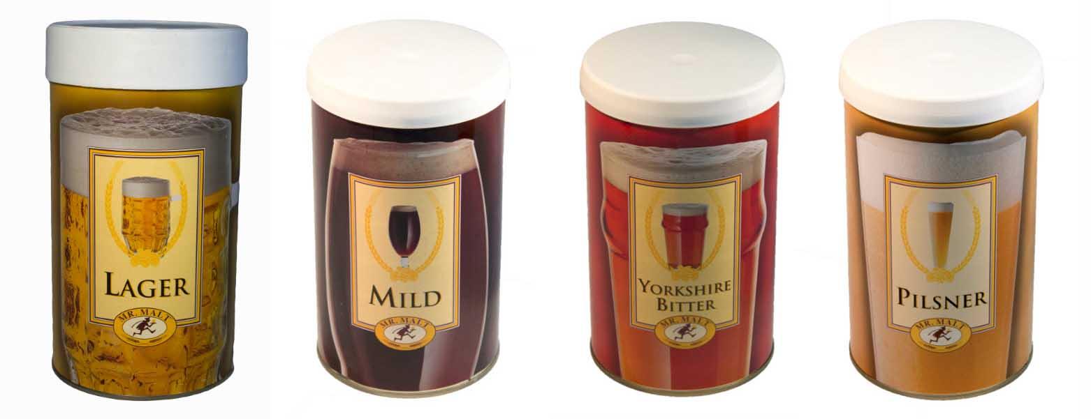 Manual para hacer cerveza en casa con latas de malta preparada
