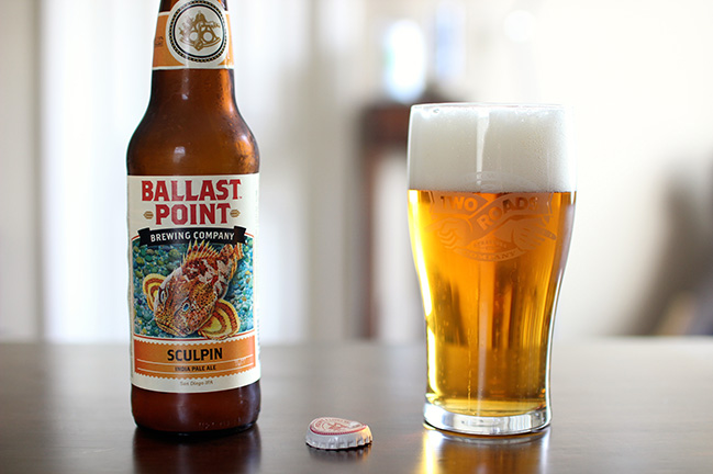 Sculpin IPA - cerveza de Ballast Point Brewery