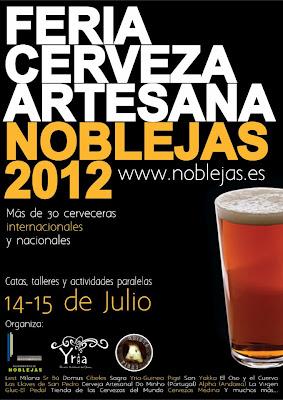 Feria de Cerveza Artesana en Noblejas (Toledo)