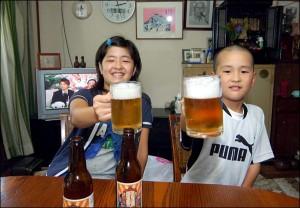 Cerveza para niños