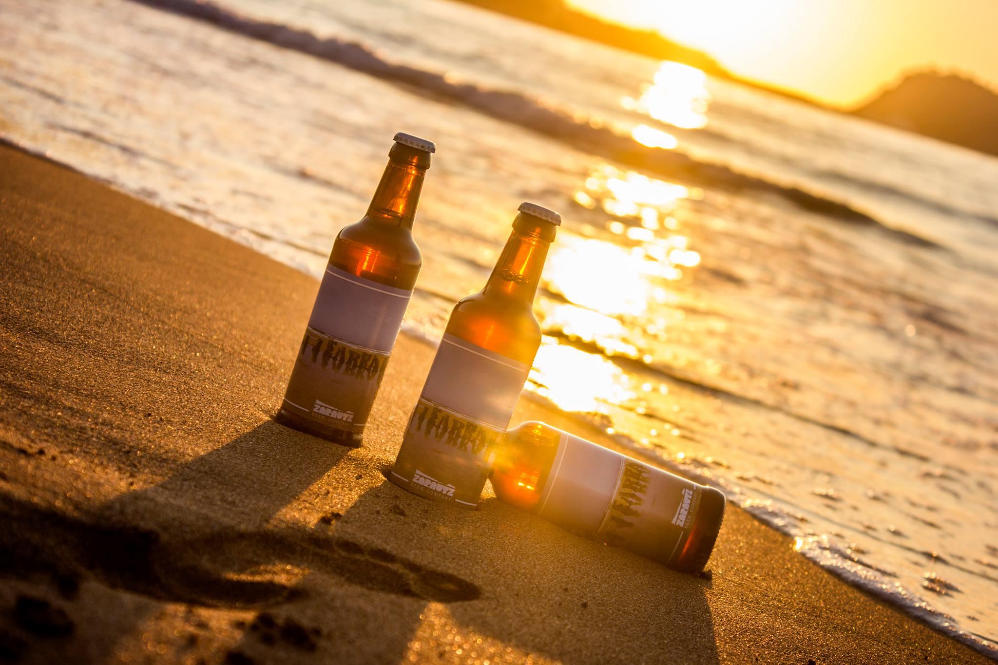 Cerveza artesana de Zarautz Beer Company