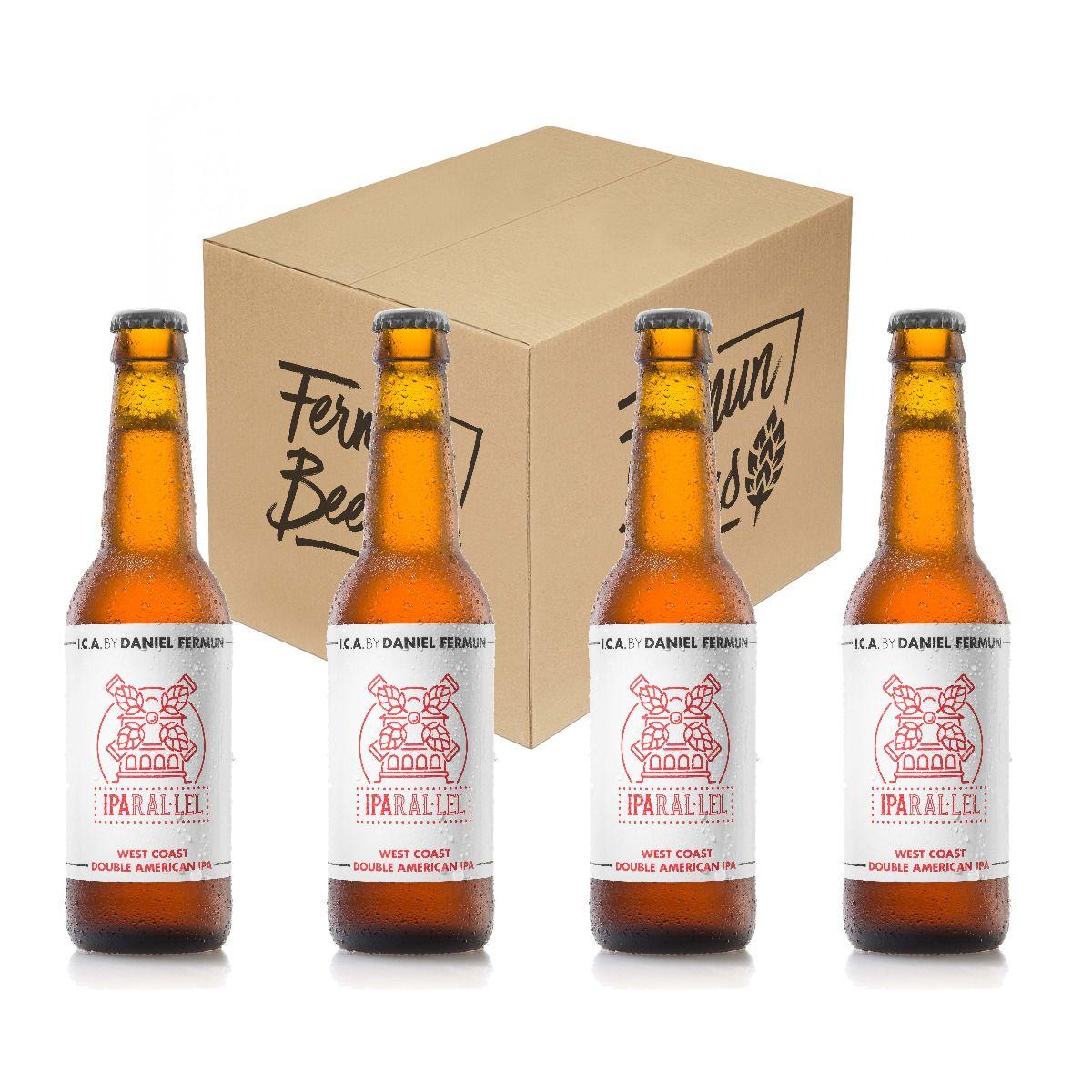 "Cerveza Iparal.lel de ""Fermun Beers"""
